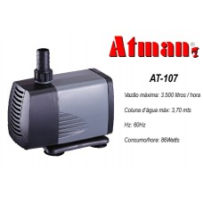 ATMAN POWER LIQUID FILTER AT-107 3500L/H