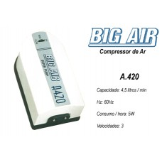 Big Air A420 - Compressor de ar - 110V